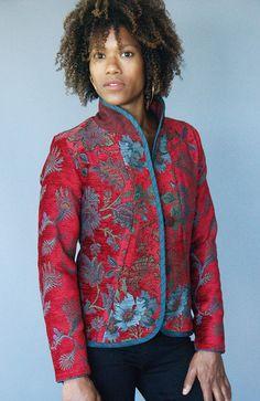 Mary Lynn O'Shea: Designer | Weaver | Ripton Jacket