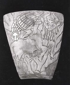 Inlay  Sumerian, 2600-2500 BC  The Metropolitan Museum of Art