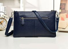 Royal Blue Fashion Casual Embossing Nappa Leather Messenger Shoulder Bags Messenger Bags, Blue Fashion, Royal Blue, Shoulder Bags, Casual, Leather, Shoulder Bag, Random, Casual Clothes