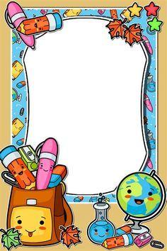 Cute Owls Wallpaper, Flower Background Wallpaper, Frame Border Design, Page Borders Design, Borders For Paper, Borders And Frames, School Border, Kindergarten Design, Paper Quilling Patterns