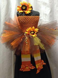 Fall Tutu Outfit by Bowsbaublesandbeads on Etsy