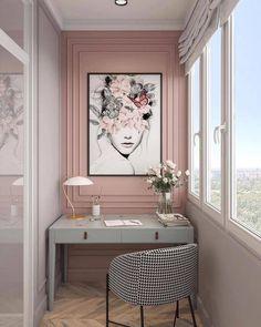 Home Room Design, Home Office Design, Home Office Decor, House Design, Home Decor, Office Furniture, Workspace Design, Office Workspace, Home Office Space