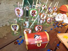 A Treasure Hunt Pirates and Mermaids - decoration