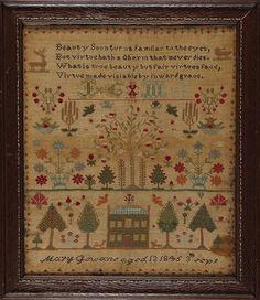 Mary Gowans 1845                                      Quelle merveille!