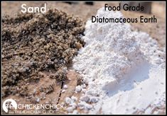 The Chicken Chick®: Raising Chickens Naturally: Diatomaceous Earth, by herbalist Susan Burke - Very interesting article with lots for food for thought regarding the use of Diatomaceous Earth in gardens, coops, etc.