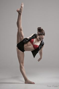 one of my many life goals. I'm flexible, but not that flexible!