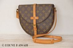 Louis Vuitton Monogram Chantilly MM Shoulder Bag M51233