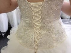 Disney 'Belle' Wedding Gown by Alfred Angelo Capalaba Brisbane South East image 3