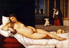 Tiziano - Venere di Urbino - 1538.
