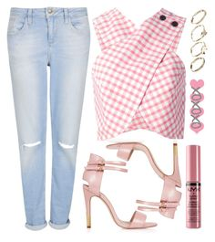 """""""street style"""" by sisaez ❤ liked on Polyvore featuring Topshop, Carven, NYX and ASOS"""