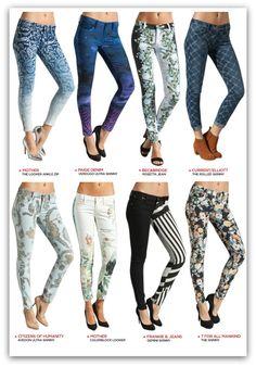 """Jean Sanatı """"Printed Denim"""" Baskılı Jeanler şimdi Jeanswelove'da. Siz De Çok Özel Fiyatlara Sahip Olabilirsiiz.. http://jwlove.co/6q"""