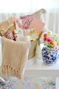 A Fabulous Mother's Day Gift Basket Idea — 2 Ladies & A Chair