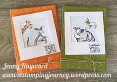 """ANIMAL OUTING """"SELFIE"""" CARDS!"""