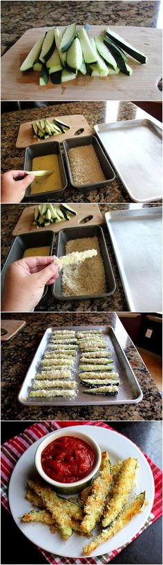 Delicious parmesan zucchini fries recipe | Eat your greens #FootstepsinEden #zucchini #veggies