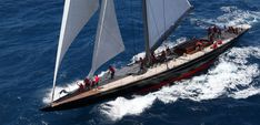JH2 Rainbow designed by Dykstra Naval Architects