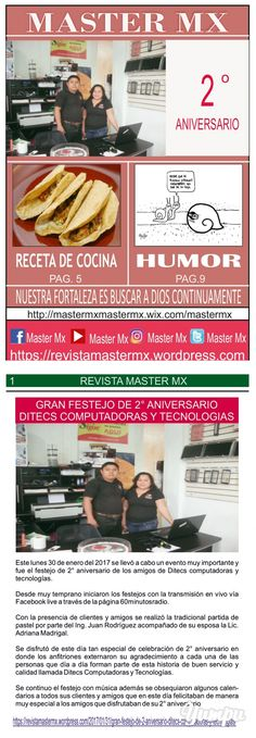 MASTER MX 68a EDICION - Magazine with 12 pages: REVISTA SEMANAL