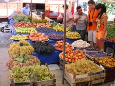 Market in Turkey