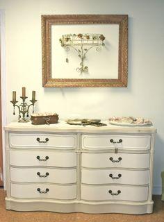 cute site w/ lots of refurbished furniture
