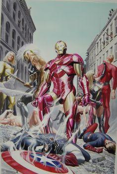 Avengers Invaders #2 Cover | Artist: Alex Ross