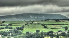 Pendle Hill with 1612 etched into the surface to mark the anniversary of the Pendle Witch trials © Brett Dixon Who Book, Witch Trials, Pictures Of The Week, Tarot Cards, Wicca, Witchcraft, Mists, Britain, History