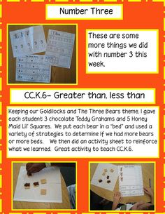 Golden Gang Kindergarten: Math Freebie