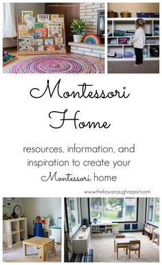 Resources, information, and inspiration to create a Montessori home.