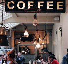 Shop Around, Store Fronts, Hanging Out, Track Lighting, Coffee Shop, Around The Worlds, Design Inspiration, Ceiling Lights, Home Decor