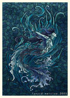 mermaid lynard narcisco