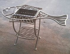 Metal Art Projects, Welding Projects, Cement Mixers, Outdoor Oven, Welding Table, Bar Gifts, Metal Working Tools, Barbecue Grill, Metal Artwork