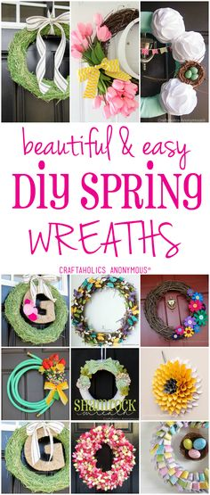 Design a style that will fit you this spring! Use your garden, for great ideas! Welcome spring! www.craftaholicsanonymous.net