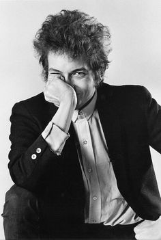 Bob Dylan photographed by Daniel Kramer in New York City, 1965
