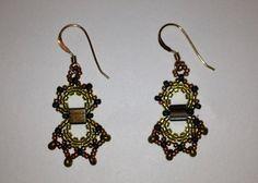 Fandango Earrings Kit materials and pattern