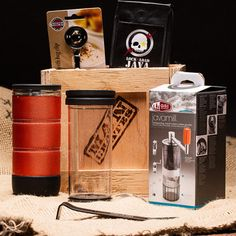 MAN CRATES - no bow, no ribbons, no fluff and absolutely no directions. The Caffeine Fiend secret is a proven, potent elixir known as COFFEE. Great Father's Day Gifts, Best Gifts For Men, Gifts For Him, Creative Gifts, Unique Gifts, Man Crates, Concrete Bricks, Ammo Cans, Coffee Gifts