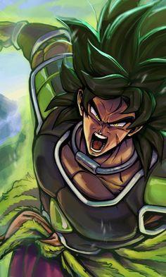 Broly the Legendary Super Saiyan, Dragon Ball Super - anime Dragonball Evolution, Dragon Ball Z, Anime Negra, Dragonball Super, Broly Movie, Akira, Dragon Images, Art Anime, Character Art