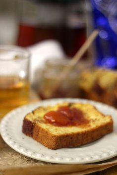 As Minhas Receitas: Pão de Milho com Açúcar e Canela