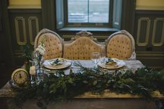 Boho Real Wedding Sweetheart Table by Something Blue, New Years Eve 2015, Tara Lily Photography