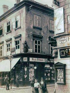Wien - Stumpergasse, Ecke Gumpendorfer Straße in Mariahilf