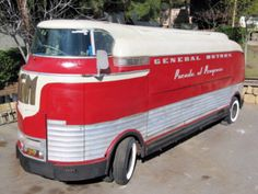 The last unrestored Futurliner is up for sale, and at a bagrain price - $400,000! http://www.hemmings.com/classifieds/carsforsale/gmc/futurliner/1481349.html?refer=news