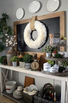 This lovely, delicate wreath is handmade using white coffee filters, with a jute twine loop attached for easy hanging. Beautiful enough to display year-round in
