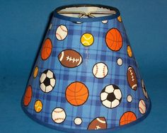 Sport Ball Baseball Football Soccer Basketball Handmade Lampshade Lamp Shade | eBay
