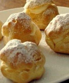 Mini Desserts, Just Desserts, Profiteroles, Bomboloni, Churros, Biscuit Dessert Recipe, Easter Deserts, Cookie Recipes, Dessert Recipes