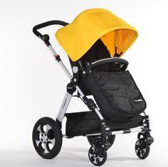 Sunshine Yellow Ibelieve Baby Buggy