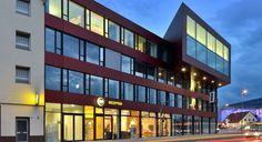 Außenansicht des B&B #Hotel #Münster-Hafen