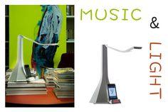 LADIVA: LED #light and #music system. Dimensions: dm 18,5 cm x h 37,5 cm. Lamp bulb: 1x4.5W Cree Warm white. Designers: Dante Donegani, Giovanni Lauda, 2009. http://bit.ly/18Jt6fP #lamp #design #rotaliana #home #furniture