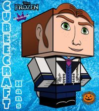 Cubeecraft of Hans from Disney's Frozen | SKGaleana