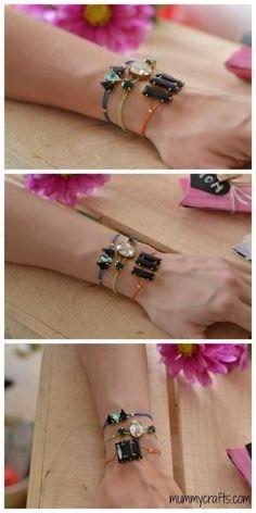 DIY: bracelets by Watson Kimber