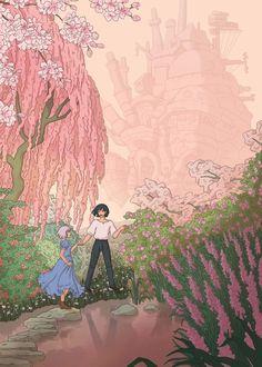 Totoro, Howl And Sophie, Ghibli Movies, Howls Moving Castle, Hayao Miyazaki, Artwork, Anime, Instagram, Feels