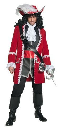 Smiffy's Men's Pirate Captain Costume ~ http://www.amazon.com/Smiffys-Mens-Pirate-Captain-Costume/dp/B005HMHP2C/ref=pd_sbs_a_11