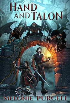 Hand and Talon (World of Kyrni Book 1) By Melonie Purcell - After being captured, Krea is taken to the Royal City — and finds herself on an exciting adventure filled with magic, shapeshifting dragons, and evil elves. But a devastating war could spell the end of the entire empire…