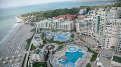 Sunset Resort Beach, Pomorie, Bulgaria